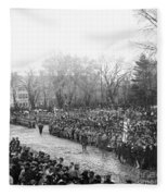 Lincolns Inauguration Fleece Blanket