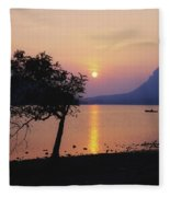 Lough Gill, Co Sligo, Ireland Irish Fleece Blanket
