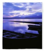 Lough Leane, Lakes Of Killarney Fleece Blanket