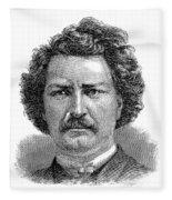 Louis Riel (1844-1885) Fleece Blanket