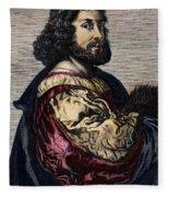 Ludovico Ariosto Fleece Blanket