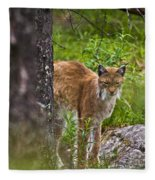 Lynx Fleece Blanket