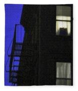 Manhattan After Dark Fleece Blanket