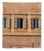 Marrakech In Morocco Fleece Blanket