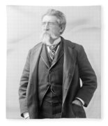 Mathew Brady, Father Of Photojournalism Fleece Blanket