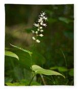May Lily Fleece Blanket