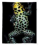 Mimic Poison Frog Fleece Blanket