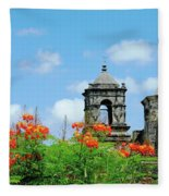 Mission San Jose San Antonio Fleece Blanket