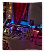 Music Studio Fleece Blanket