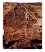 Natural Carvings Fleece Blanket