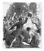 New York: Astor Place Riot Fleece Blanket