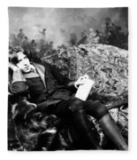 Oscar Wilde (1854-1900) Fleece Blanket