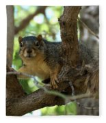 Out On A Branch Fleece Blanket