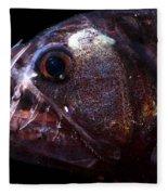 Pacific Viperfish Fleece Blanket