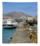 Paros - Cyclades - Greece Fleece Blanket