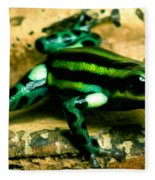 Pasco Poison Frog Fleece Blanket