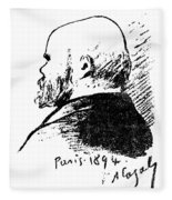 Paul Verlaine (1844-1896) Fleece Blanket