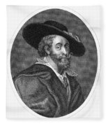 Peter Paul Rubens Fleece Blanket