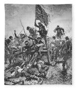 Picketts Charge, 1863 Fleece Blanket