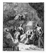 Pope: Rape Of The Lock Fleece Blanket