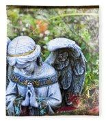 Pray Fleece Blanket