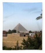 Pyramids Of Giza Fleece Blanket