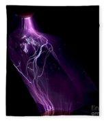 Quartz Crystal & Sparks Fleece Blanket