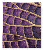 Queen Victoria Lily Fleece Blanket