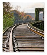 Railway Track Fleece Blanket