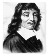 Ren� Descartes, French Polymath Fleece Blanket