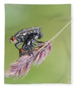 Reproduction - At The Height Of Bliss Fleece Blanket
