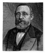 Rudolf Virchow (1821-1902) Fleece Blanket