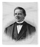 Samuel J. Tilden (1814-1886) Fleece Blanket