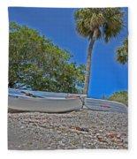 Sarasota Bayfront  Fleece Blanket
