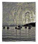 Seascape Fleece Blanket