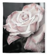 Secret Garden Rose Fleece Blanket