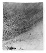 Sedan Crater, Nevada Test Site Fleece Blanket