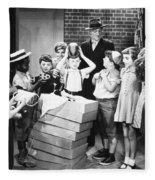 Silent Film: Little Rascals Fleece Blanket