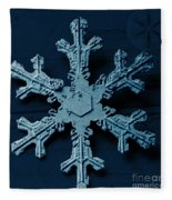 Snow Crystal Fleece Blanket