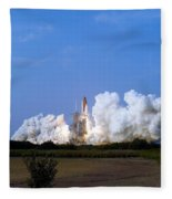 Space Shuttle Endeavour Fleece Blanket