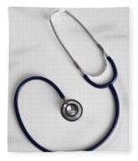 Stethoscope Fleece Blanket