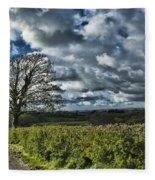 Sycamore Tree Fleece Blanket