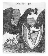 Symbols: Eagle Fleece Blanket