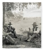 Texas: Cowboys, C1908 Fleece Blanket