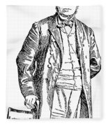 Thomas Darcy Mcgee Fleece Blanket