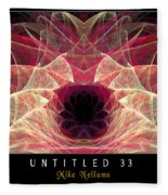 Untitled 33 Fleece Blanket