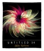 Untitled 34 Fleece Blanket