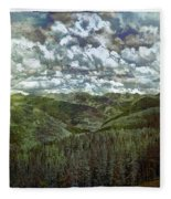 Vail Vista Fleece Blanket