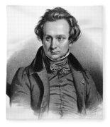 Victor Hugo (1802-1885) Fleece Blanket