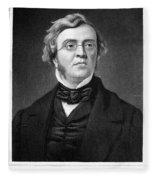 William M. Thackeray Fleece Blanket